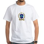 MALLAIS Family Crest White T-Shirt