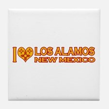 I Love Los Alamos, NM Tile Coaster