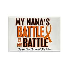 My Battle Too (Nana) Rectangle Magnet
