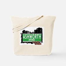 ASHWORTH AVENUE, STATEN ISLAND, NYC Tote Bag
