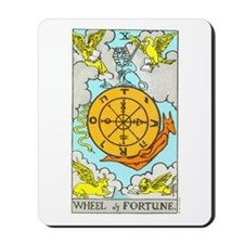 """The Wheel of Fortune"" Mousepad"