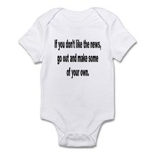 Make Your Own News Infant Bodysuit