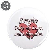 Sergio broke my heart and I hate him 3.5
