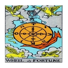 """The Wheel"" Tile Coaster"
