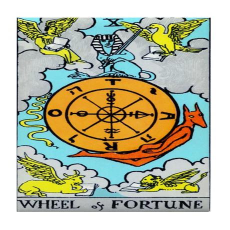 """The Wheel"" Tile Coaster"