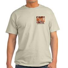 My Battle Too (Grandpa) Orange T-Shirt