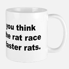 Winning the Rat Race Mug
