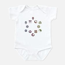 InterFaith/MultiFaith Pride Infant Bodysuit