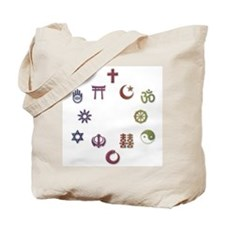 InterFaith/MultiFaith Pride Tote Bag