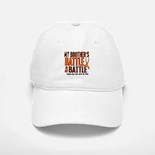 My Battle Too (Brother) Orange Baseball Baseball Cap