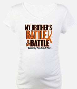 My Battle Too (Brother) Orange Shirt