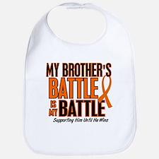 My Battle Too (Brother) Orange Bib