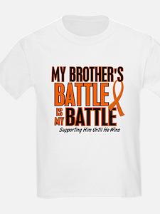 My Battle Too (Brother) Orange T-Shirt