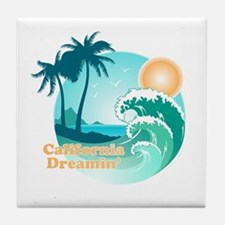 California Dreamin' Tile Coaster
