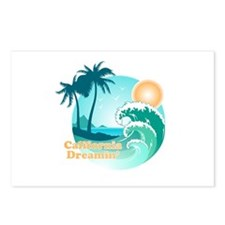 California Dreamin' Postcards (Package of 8)