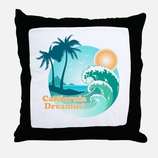 California Dreamin' Throw Pillow