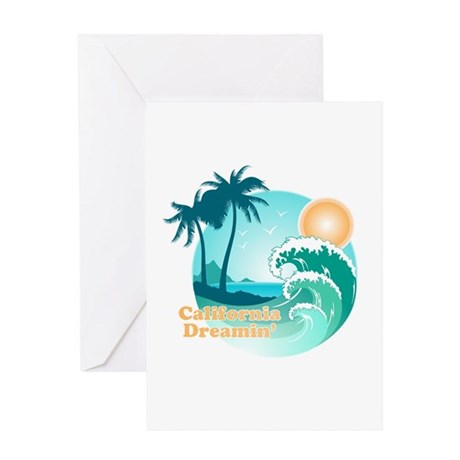 California Dreamin' Greeting Card