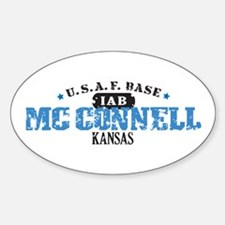 McConnell Air Force Base Oval Decal
