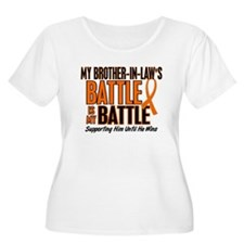 My Battle Too (Brother-In-Law) Orange T-Shirt