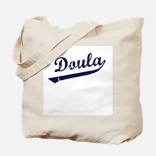 Doula Baseball Tote Bag