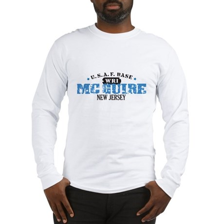 McGuire Air Force Base Long Sleeve T-Shirt