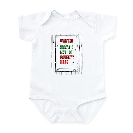 Naughty Girls baby Infant Bodysuit