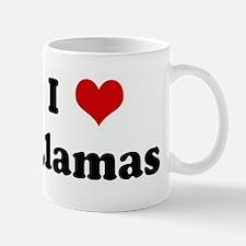 I Love Llamas Mug