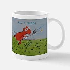 Orange Horse Lacrosse Quick s Mug