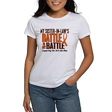 My Battle Too (Sister-In-Law) Orange Tee