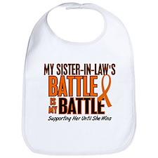 My Battle Too (Sister-In-Law) Orange Bib