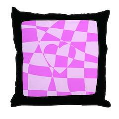 Heart Doodle Throw Pillow