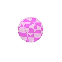 Heart Doodle Mini Button (100 pack)