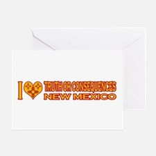 I Love Truth or Consequences, NM Greeting Card
