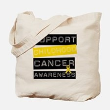 Childhood Cancer Support Tote Bag