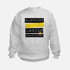 Childhood Cancer Support Sweatshirt