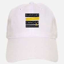 Childhood Cancer Support Baseball Baseball Cap