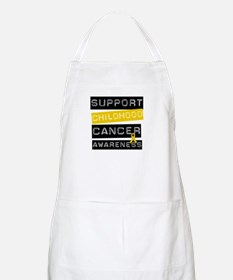 Childhood Cancer Support BBQ Apron