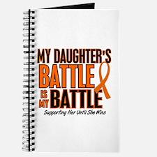 My Battle Too (Daughter) Orange Journal