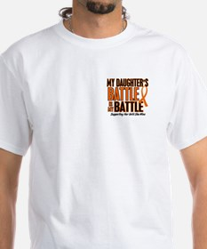 My Battle Too (Daughter) Orange Shirt