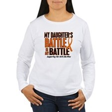 My Battle Too (Daughter) Orange T-Shirt