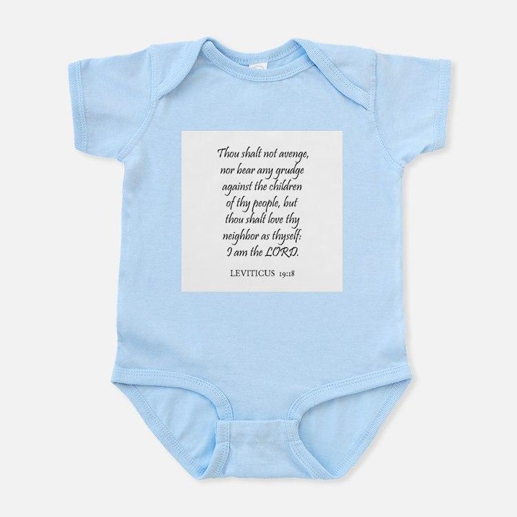 LEVITICUS  19:18 Infant Creeper