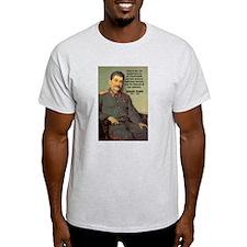 Joseph Stalin Ash Grey T-Shirt