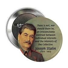 """Joseph Stalin 2.25"""" Button (10 pack)"""