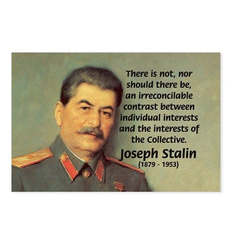 Joseph Stalin Postcards (Package of 8)