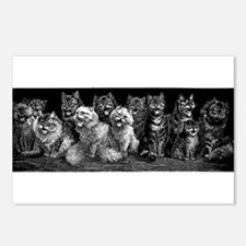 The Peanut Gallery Postcards (Package of 8)