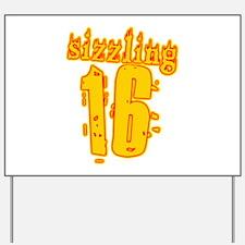 Hot 16th B-day Gifts Yard Sign