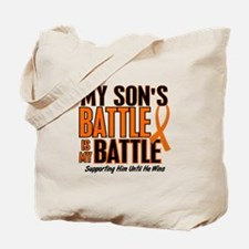 My Battle Too (Son) Orange Tote Bag