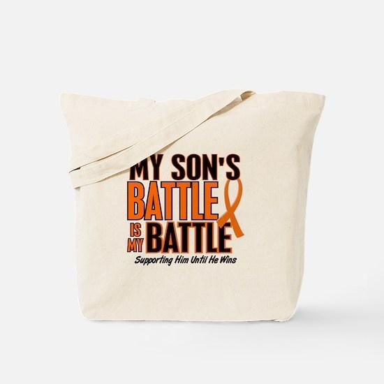 My Battle Too (Son) Orange Tote Bag
