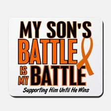 My Battle Too (Son) Orange Mousepad