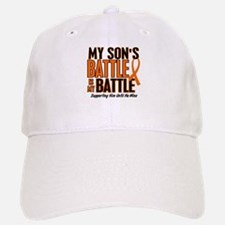 My Battle Too (Son) Orange Baseball Baseball Cap